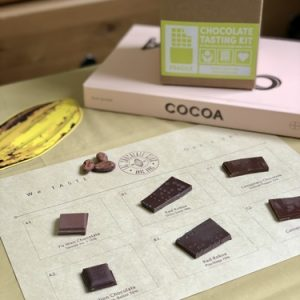 Online Tasting Event with The Chocolate Club Hong Kong